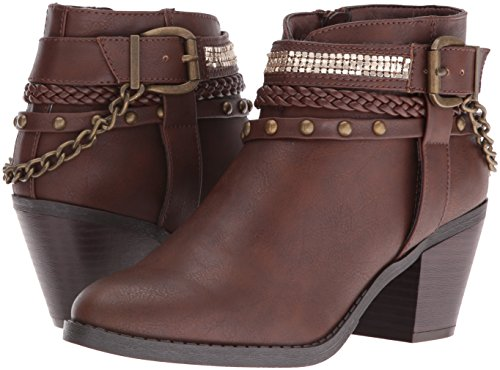 Ankle Sugar Brown Dark Bootie Takedown Women's WW4n6pRf