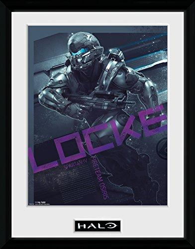 GB Eye LTD, Halo, Locke, Print Enmarcado, 30 x 40 cm: Amazon.es: Hogar