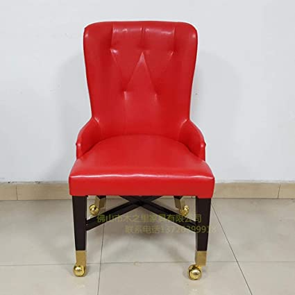 Peachy Amazon Com Casino Baccarat Vip Chair With Wheelchair Andrewgaddart Wooden Chair Designs For Living Room Andrewgaddartcom