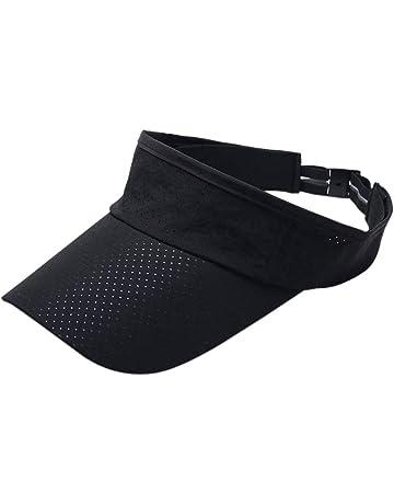 Visor Hat Sports Fashion Visor Hat Sport Sun Cap Visor Cap Men Women Summer  Thin Mesh 737404e3675