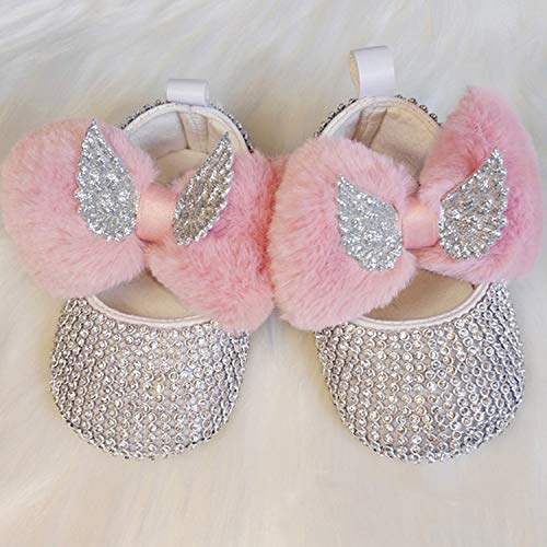 GorNorriss Baby Girl Shoes Dancing Shoes Bow-Knot Ornament Shoes Non-Slip Casual Shoes