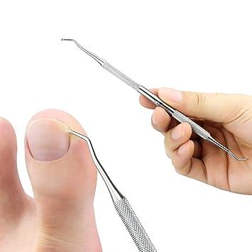 Amazon.com: Ingrown Toenail File and Spoon Nail Cleaner Set ...