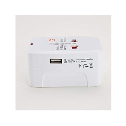 Amazon.com: Universal Travel Plug AC Power Charger Adapter Converter USB Port US AU UK EU: Home Improvement