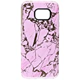Incipio Samsung Galaxy S7 Edge Case, Marble Design Series Scratch-Resistant Translucent Shock-Absorbing Cover, Pink/Rose Gold