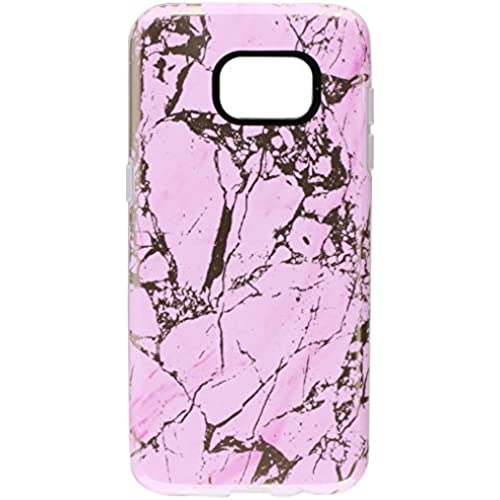 Samsung Galaxy S7 edge case, Incipio Marble, [Design Series] Scratch-Resistant Translucent Shock-Absorbing Cover - Pink/Rose Gold Sales