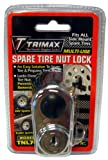 Trimax Spare Tire Nut Lock - Fits All Side Mount