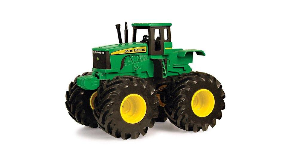 John Deere Tractor Monster vibración con luces y sonidos TOMY