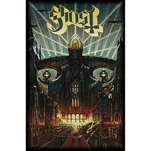 ghost poster flag