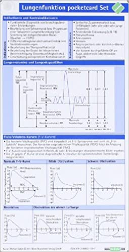 Lungenfunktion pocketcard Set: Amazon.de: Michael Jakob: Bücher