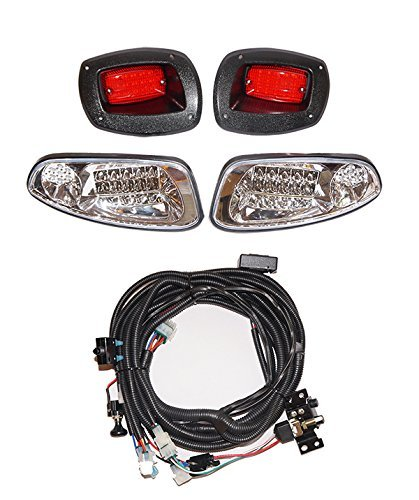 Amazon ezgo rxv led deluxe light kit 2008 street legal kit ezgo rxv led deluxe light kit 2008 street legal kit horn head and sciox Images