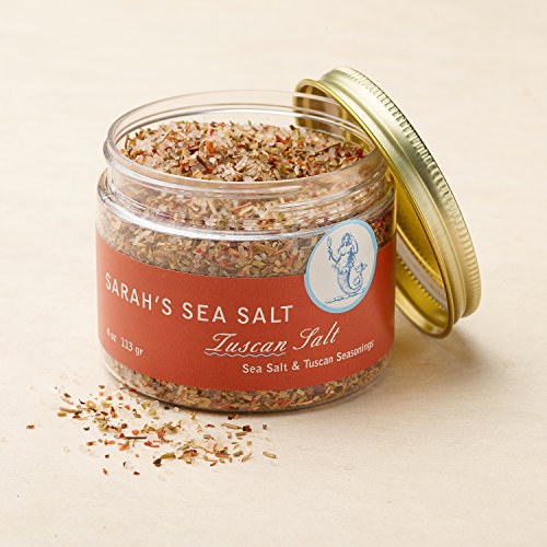 Sarah's Sea Salt, Tuscan Salt 4 oz by Coastal Goods