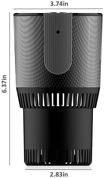 Haplws 2-in-1 Auto Auto Cup Cooler Warmer Tragbare Auto Heizung K/ühlung und Heizung Getr/änkehalter f/ür Wasser Kaffee Getr/änke Milch