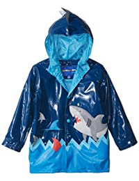 Wippette Boys Shiny Shark Rain Jacket