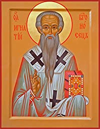 St. Ignatius of Antioch Traditional Panel Russian Orthodox icon