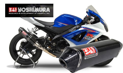 Race Suzuki Carbon Yoshimura Gsxr1000 (Yoshimura TRC Slip-On Exhaust 1116272)