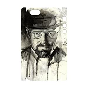 taoyix diy C-EUR Cell phone Protection Cover 3D Case Breaking bad For Iphone 5,5S