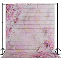 Mehofoto Seamless Photo Backdrop Silk Watercolor Photography Background Collapsible Studio Flower Backdrop 5×7ft