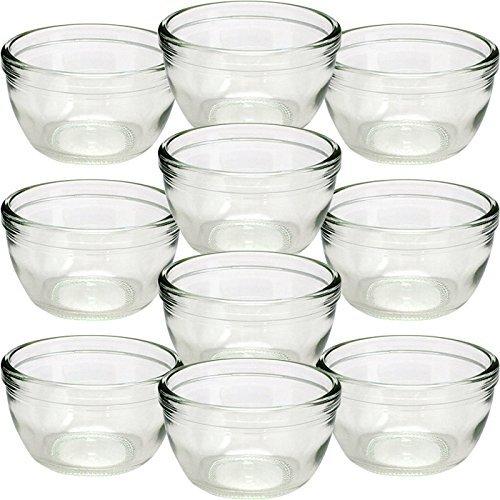 Garasubin.com Dessert 110 110ml (3.7oz) Yoghurt Jar Pudding Jar 1set (10jars)