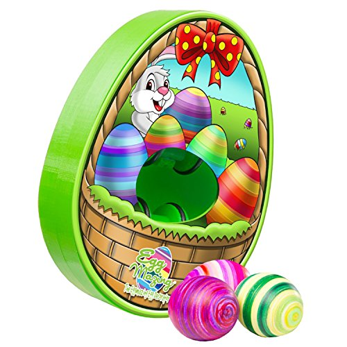 The Original EggMazing Easter Egg Decorator Kit - Includes 8 Colorful Quick Drying Non Toxic Markers ()
