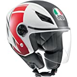 AGV Blade Helmet - FX (SMALL) (WHITE/RED)