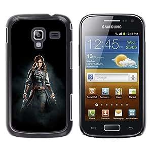 Samsung Galaxy Ace 2 i8160 / Ace2 II XS7560M, Radio-Star - Cáscara Funda Case Caso De Plástico (Female Pirate Assassins)