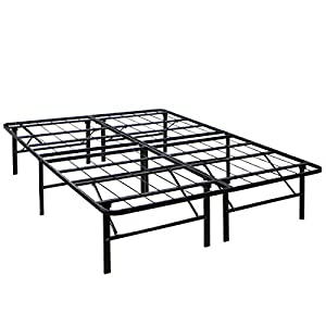barton bed frame mattress foundation platform bed frame box spring replacement heavy duty metal full
