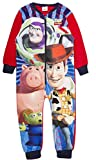 Kids Boys Fleece Character Onesie Pyjamas Pj's Size UK 1-8 Years