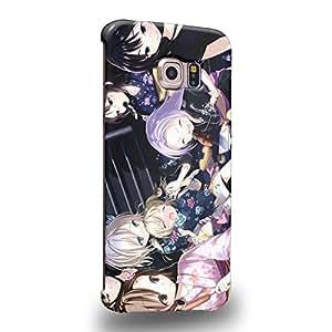 Case88 Premium Designs Haganai Boku wa Tomodachi ga Sukunai Sena Kashiwazaki Yozora Mikazuki Kobato Hasegawa 1750 Carcasa/Funda dura para el Samsung Galaxy S6 Edge (No Normal S6 !)