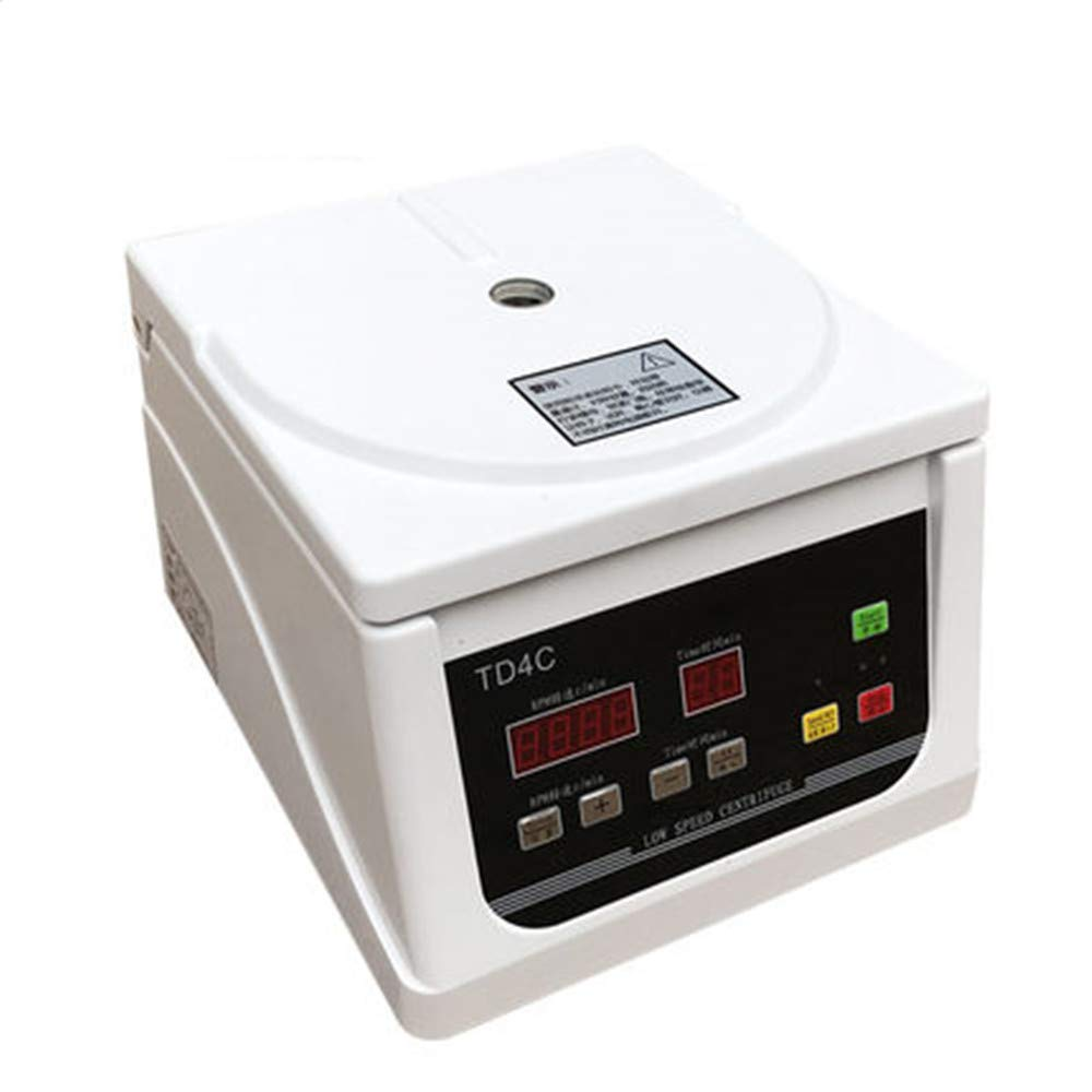 NEWTRY TD4C Bench Centrifuge Low Speed PRP Electric Centrifuge 4000 Transfer Serum Separation Laboratory Equipment