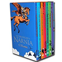 The Chronicles of Narnia: Narnia box set 7 books (The Magician's Nephew,The Lion, The Witch and the Wardrobe,The Horse and His Boy,Prince Caspian,The Voyage of the Dawn Treader,The Silver Chair,The Last Battle)
