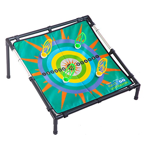 OUTUGO Tailgate Toss Football Darts Magnetic Target Toss Game by OUTUGO