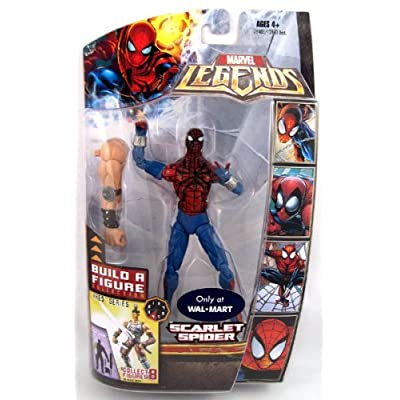 Hasbro Marvel Legends Exclusive Ares Build-A-Figure Wave Action Figure Ben Reilly (Scarlet Spider): Toys & Games