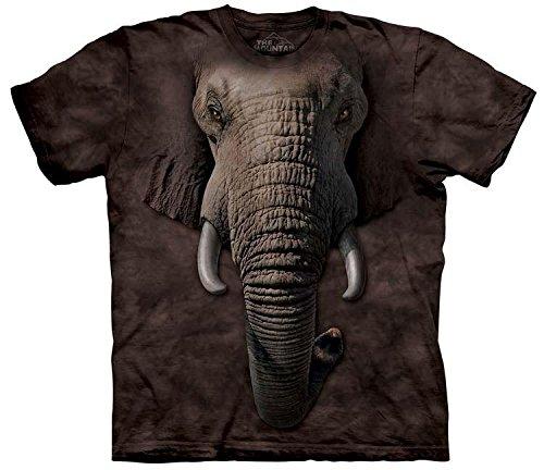 The Mountain Mens Elephant Face T-Shirt