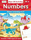 Numbers Wipe-Off Activities, Alex A. Lluch, 1613510918