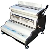 Akiles CombMac-24E 14'' Comb Binding Machine & Electric Punch, Heavy Duty Comb Opener