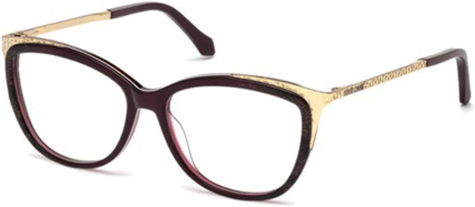 3e7ea752f8 Eyeglasses Roberto Cavalli CAMPORGIANO RC 5031 068 red other at Amazon  Men s Clothing store