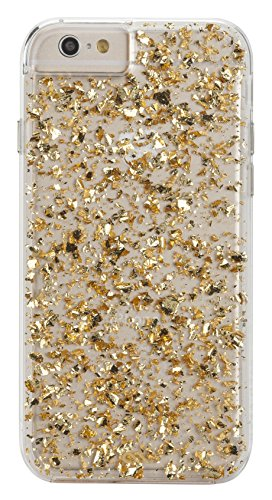 Gold Case Iphone - Case-Mate iPhone 6 Karat - Gold/Clear w/ Clear Bumper