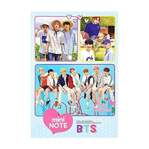 BTS Bangtan Boys Mini Notebooks (No Line)