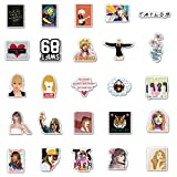 Singer Taylor Alison Swift Stickers 50PCS for