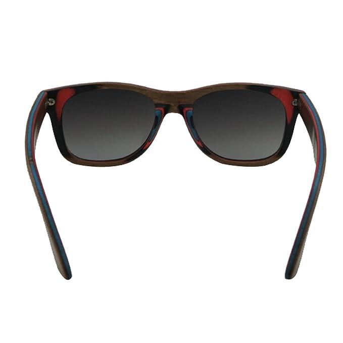 HAOYUXIANG / Skateboard Holz / Polarisiert / Qualität / Mode / Sonnenbrille,C4