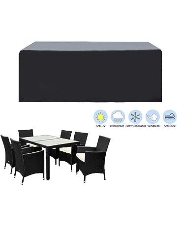 KaufPirat Colore Antracite Telo di Copertura per mobili da Giardino 280 x 200 x 90 cm