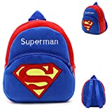 kirby backpack - Backpack Schoolbag - Superman Design Animal Cartoon Mini Backpack Schoolbag Shoulder Bag Suitable For Babies and Children - Perfect Birthday Gifts - For Kids (Superman 1)