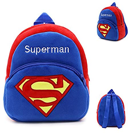 Amazon.com: Mochila schoolbag – diseño de Superman Animal ...