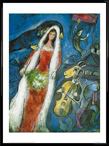 Amazoncom Marc Chagall Poster Art Print And Frame Plastic La