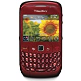 BlackBerry 8520OEMRED Gemini 8520 Unlocked Phone with 2 MP Camera, Bluetooth, Wi-Fi--International Version (Red)