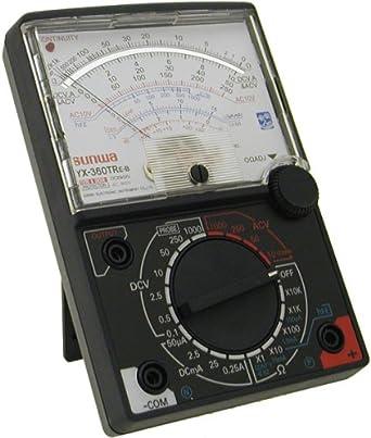 sunwa 8 function 19 range analog multimeter yx360 tre b amazon in rh amazon in Multimeter Sanwa Com www Sanwa Multimeter 773 Cena