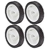Oregon (4 Pack) Drive Wheel 8 x 200 Semi Pneumatic Wheel for Sears Craftsman 194231x427 # 72-033-4pk