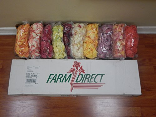 6000 Fresh Rose Petals Assorted by FarmDirect (Image #1)