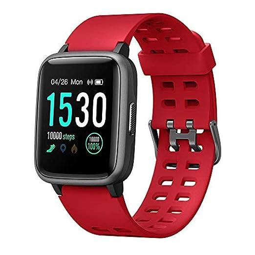 Amazon.com: HSXQQL Smart Watch Fitness Tracker, 5ATM ...