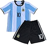 Messi Jersey 2018 World Cup Qualifiers Argentina Soccer Jersey Youth (3-4 yrs old)